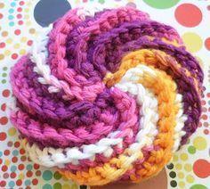 Tricot Crochet Tawashi En Spirale Häkeln Pinterest Tricot