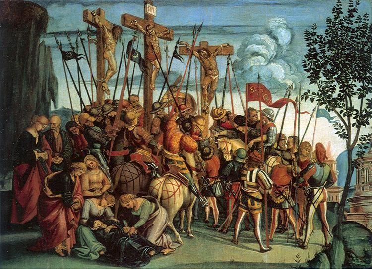 The Crucifixion, 1504-1505 - Luca Signorelli