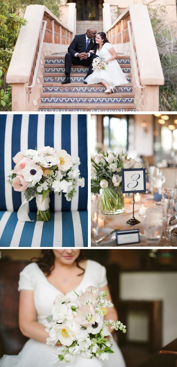Intimate Navy Ranch Wedding In California Www Chicdecorations Com