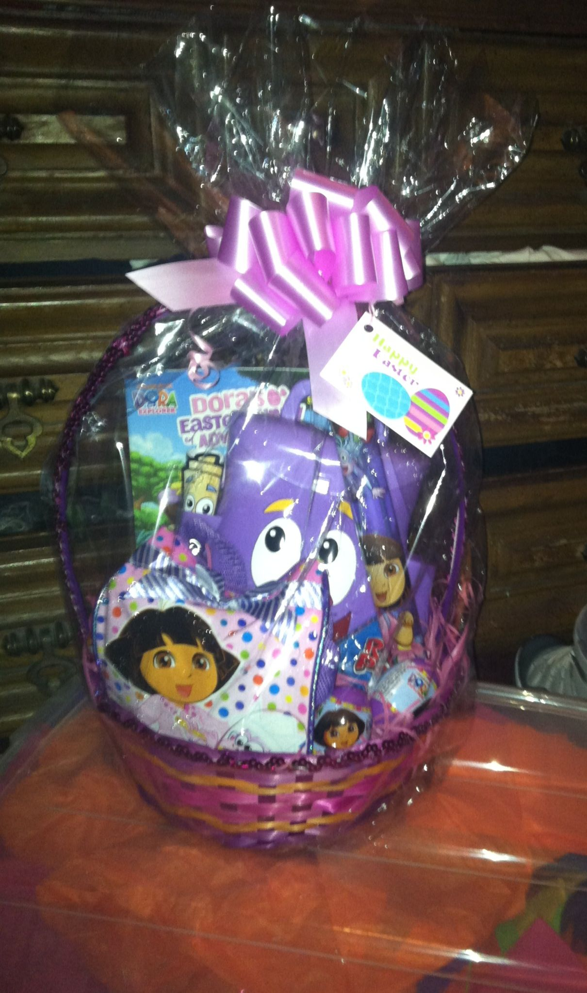 Diy dora the explorer easter basket i made for my daughter diy dora the explorer easter basket i made for my daughter negle Image collections
