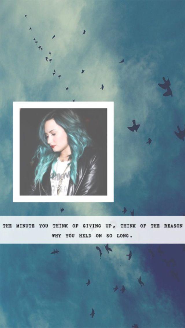 Demi Lovato Lockscreen Demi Lovato Quotes Demi Lovato Lovato