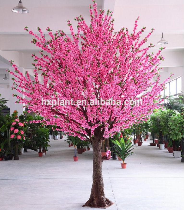 Artificial Plastic Peach Blossom Flower Tree For Decoration Artificial Peach Tree Buy Art Artificial Cherry Blossom Tree Pink Blossom Tree Peach Blossom Tree