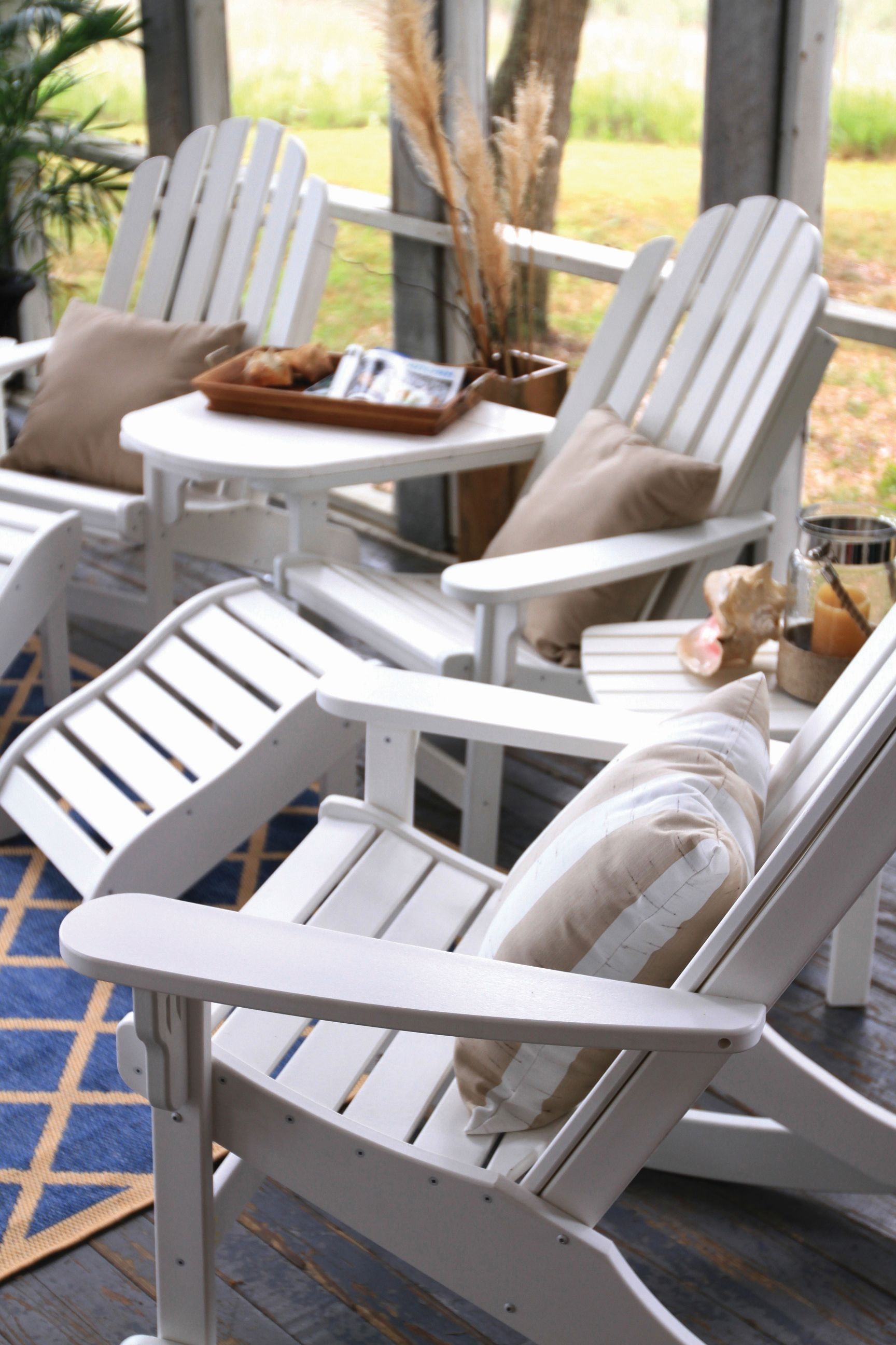 Charmant New Durawood Poly Lumber Furniture (made In NC From Recycled Plastic Milk  Jugs)