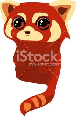 red Panda stock vector art 41119726 - iStock