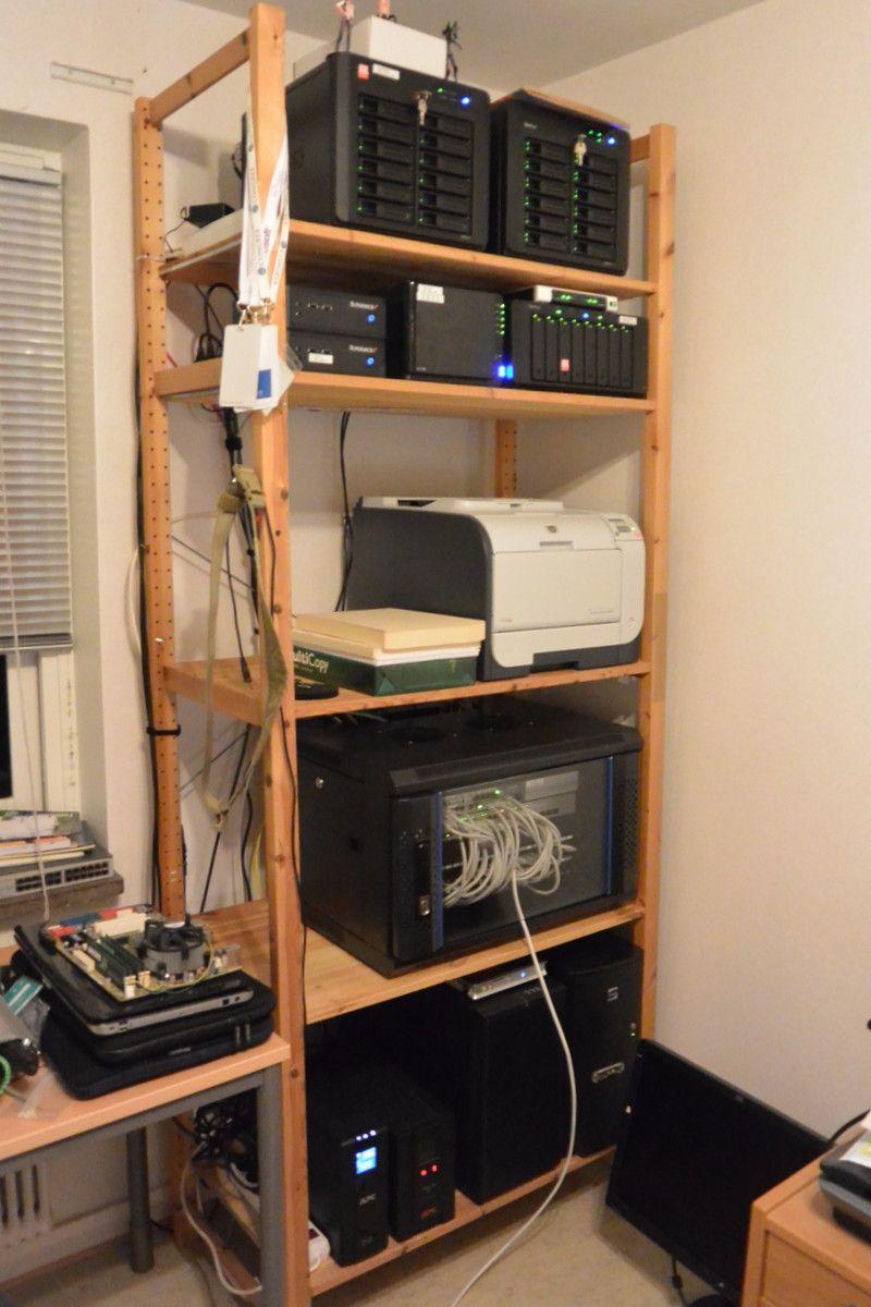 Homelab 1502 Imgur Diy Rack Computer Setup Server Room
