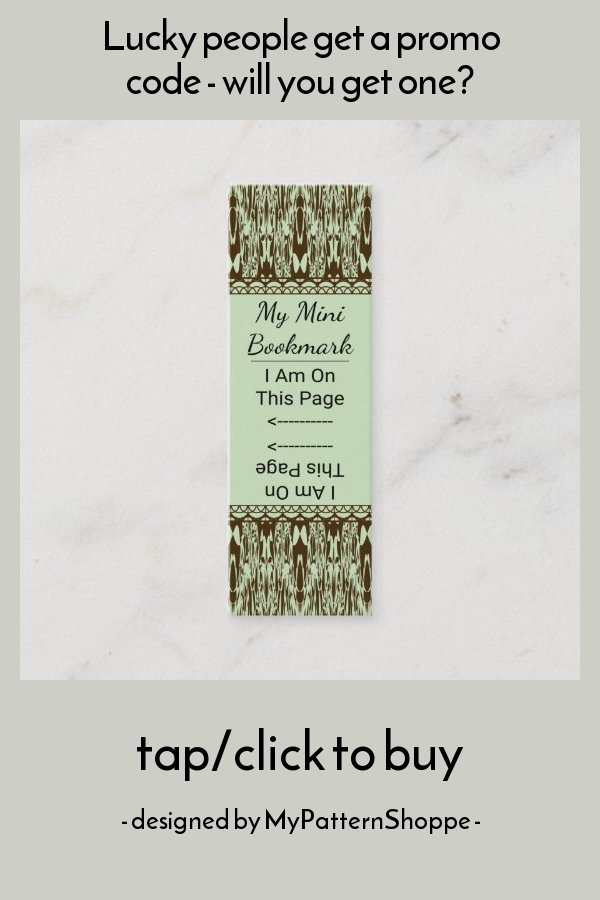Dyed Marbled Ikat Pattern Mini Page Marker Mini Business Card Zazzle Com Page Marker Mini Business Card Ikat Pattern