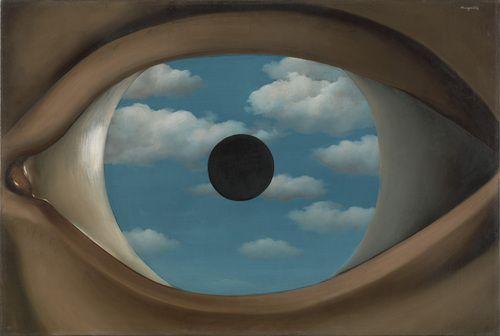 René Magritte. The False Mirror. Le Perreux-sur-Marne, 1928
