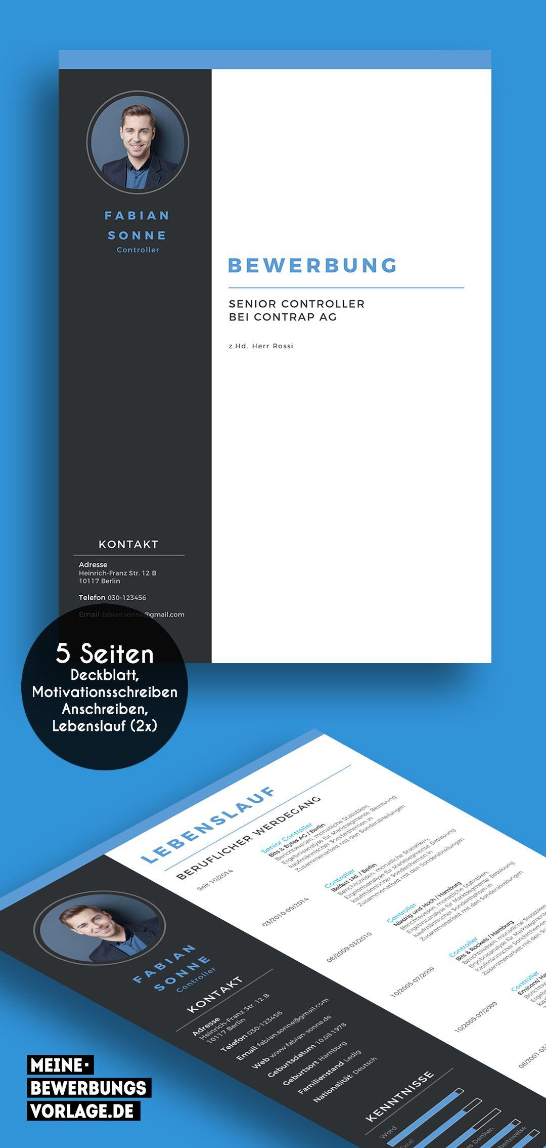 No 3 Vorlage Deckblatt Bewerbung Lebenslauf Design Lebenslauf