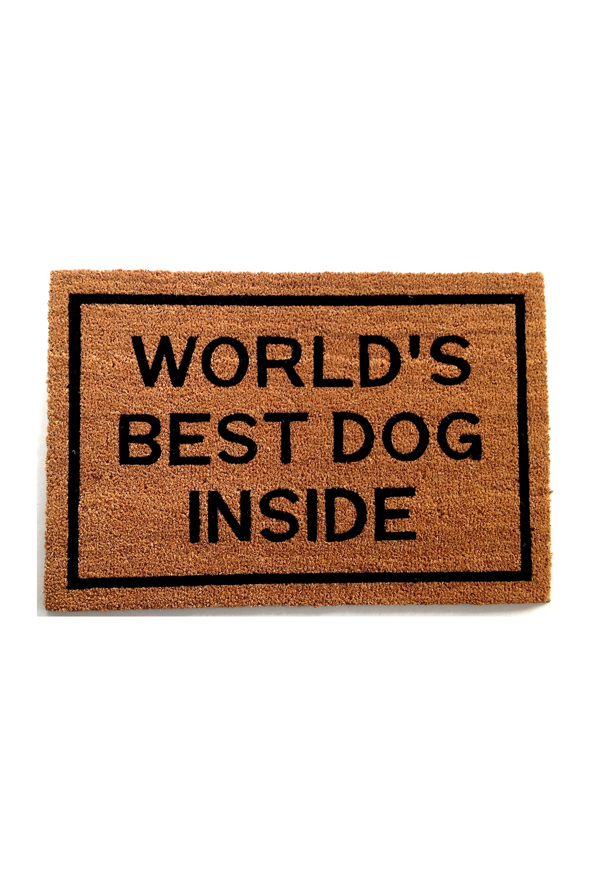 Worldu0027s Best Dog Inside Coir Doormat By Clever Doormats On @HauteLook