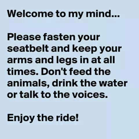 Welcome to my Mind #Funny, #Mind, #Voices | Funny | Funny ...