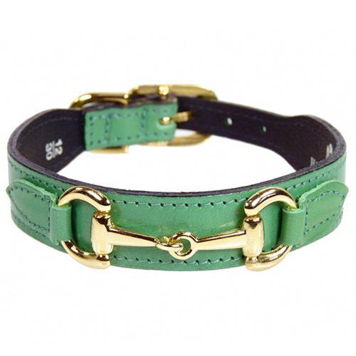 Kelly Green Bandana Dog Collar