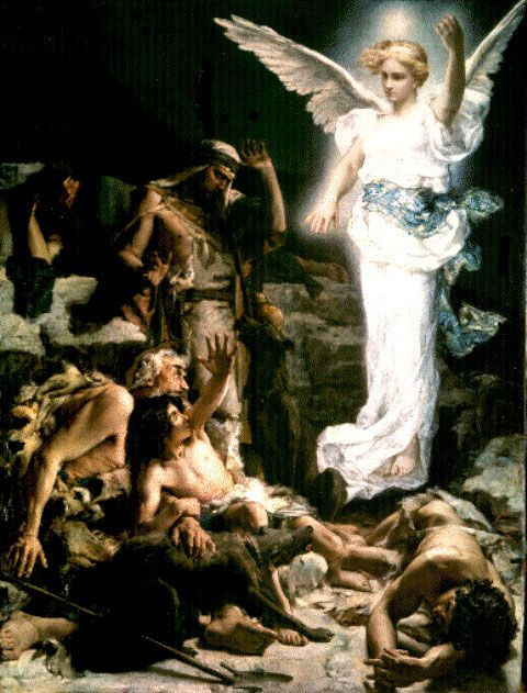 The Angels Announcement to the Shepards Leon Francois Comerre – Who Announced the Birth of Jesus
