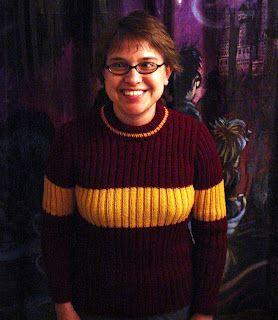What Karen Knits: Gryffindor Quidditch Sweater   Sweaters ...
