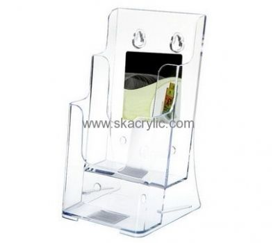 Customized Acrylic Wall Hanging Business Card Holder Name Square Bh