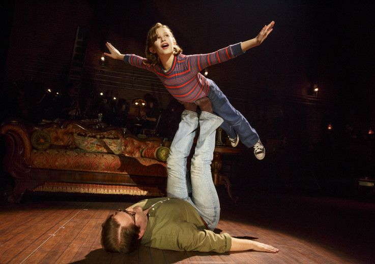 Fun Home is an Award winning musical at the Ahmanson Theatre in DTLA . It's an emotionally riveting story about family, love & loss & it's a MUST SEE!