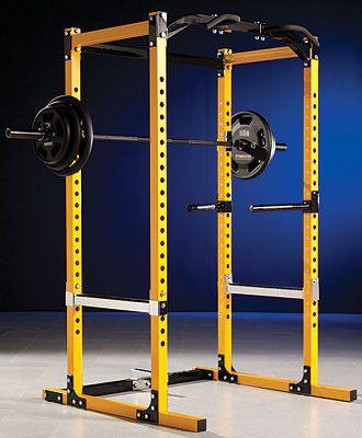 Powertec workbench power rack system i wb pr11 home gym for Diy squat rack metal