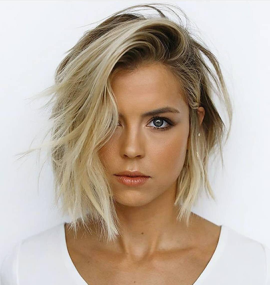 Zehn trendige kurze Bob Haarschnitte für Frauen - Frisuren Modelle #haircuts