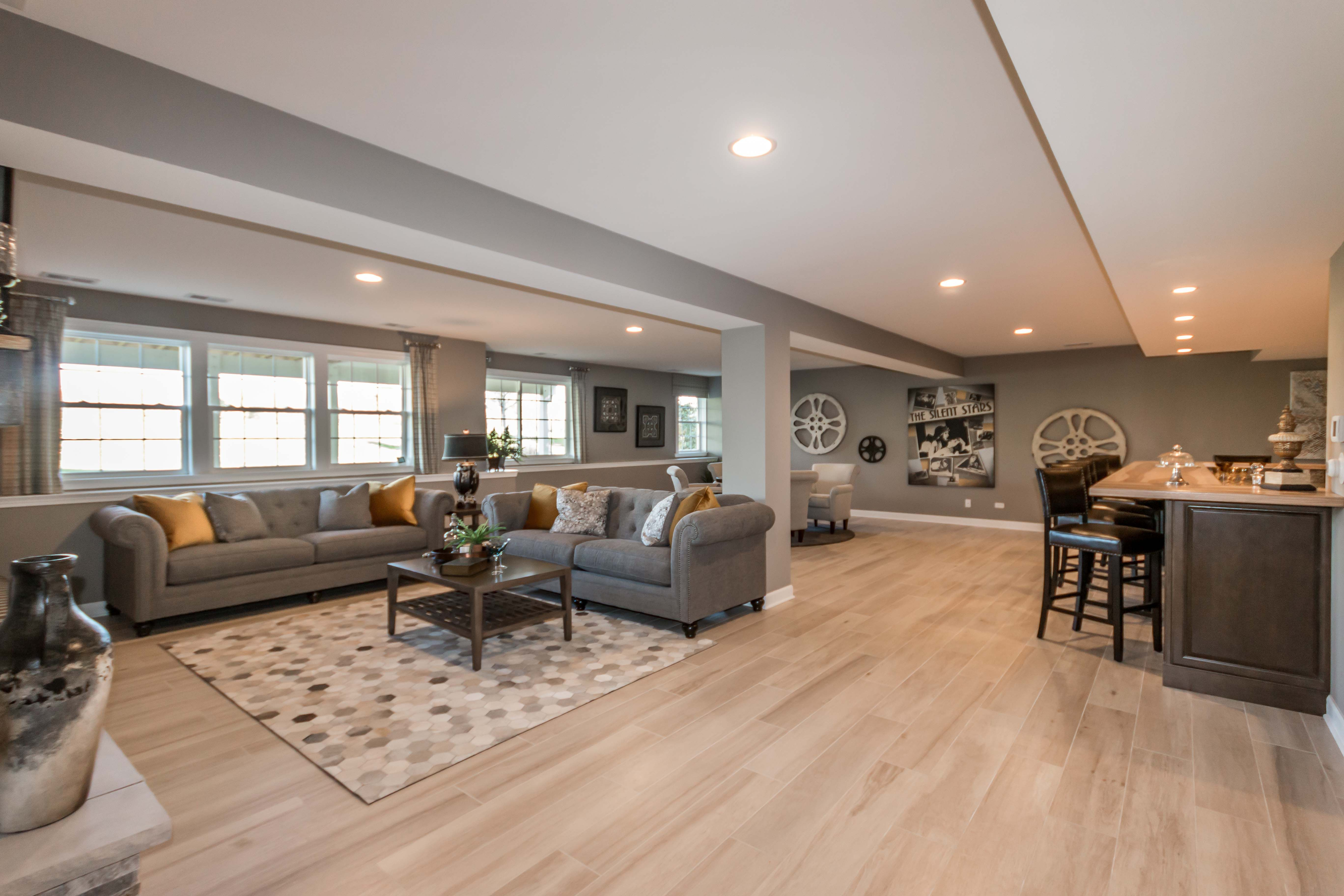 Huge Finished Basement See The Video Tour Of This Plote Homes Ranch Model Luxury Ranch Ranch House Home