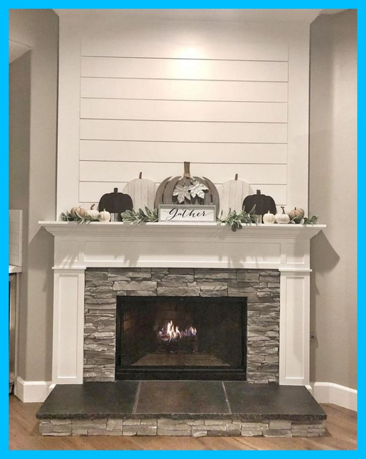 10 Beautiful Farmhouse Fireplace Mantel Decorations That Will Make You More Comfort Corner Farm House Living Room Fireplace Remodel Home Fireplace