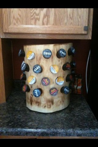 K cup holder Log stuff Pinterest
