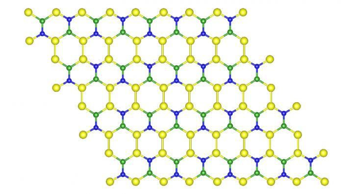 New 2-D material could upstage graphene - http://scienceblog.com/483090/new-2-d-material-could-upstage-graphene/