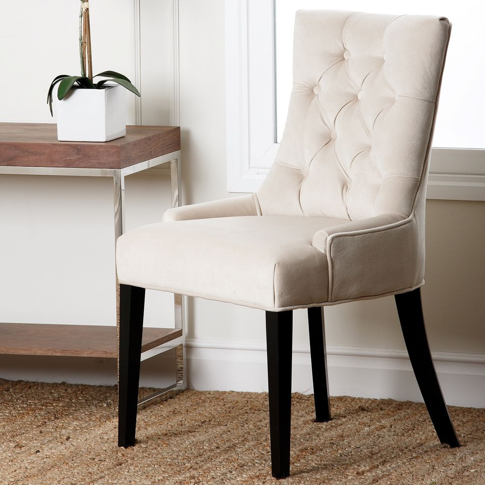 Dining Chairs Deals: Abbyson Living Napa Fabric Tufted Dining Chair