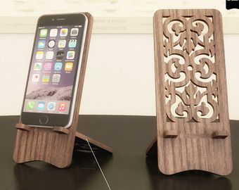 telefon standpl ne laser schneiden vorlage holz iphone stehen handy datei cnc schneiden. Black Bedroom Furniture Sets. Home Design Ideas