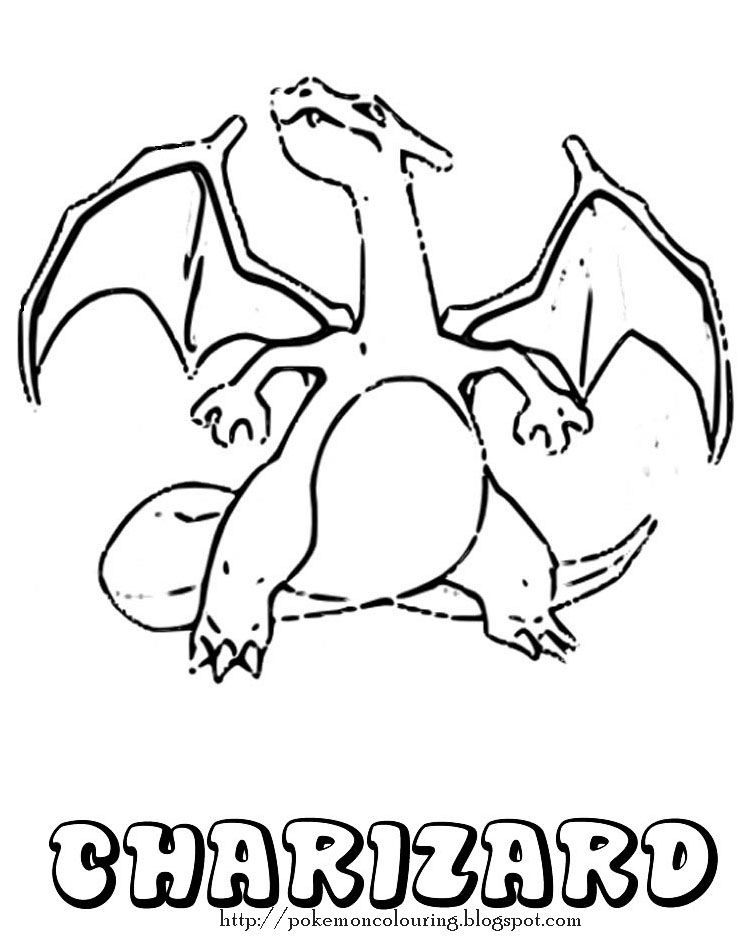 charizard | coloring pages | pinterest - Pokemon Charmander Coloring Pages