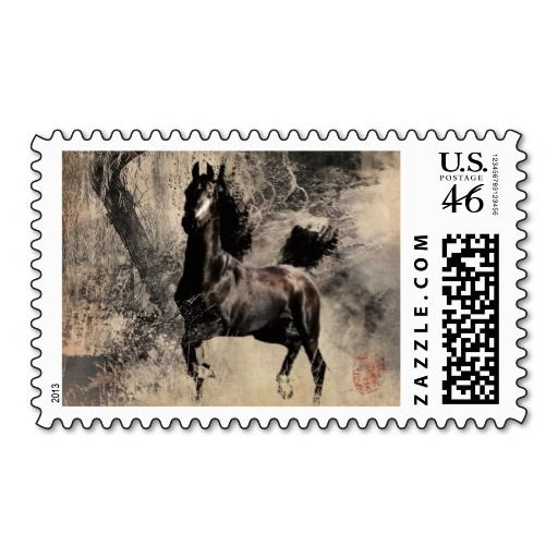 Year of the Horse 2014 - Chinese Painting Art Postage Stamps