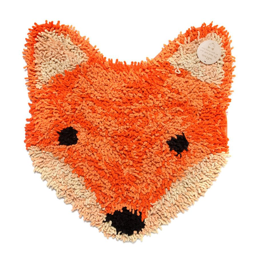 Small Rug / Bath Mat   Fox