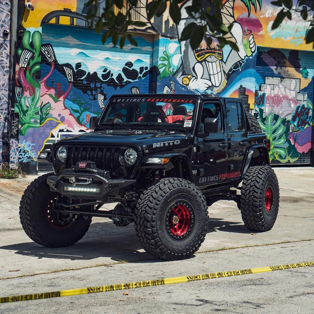 2018 Jeep Jl Front Bumpers Loving This 2018 Jeep Jl Built By Luxtires High Performance Add Rock Fighter Winch Front B Jeep Jl Jeep Wrangler New Jeep Wrangler