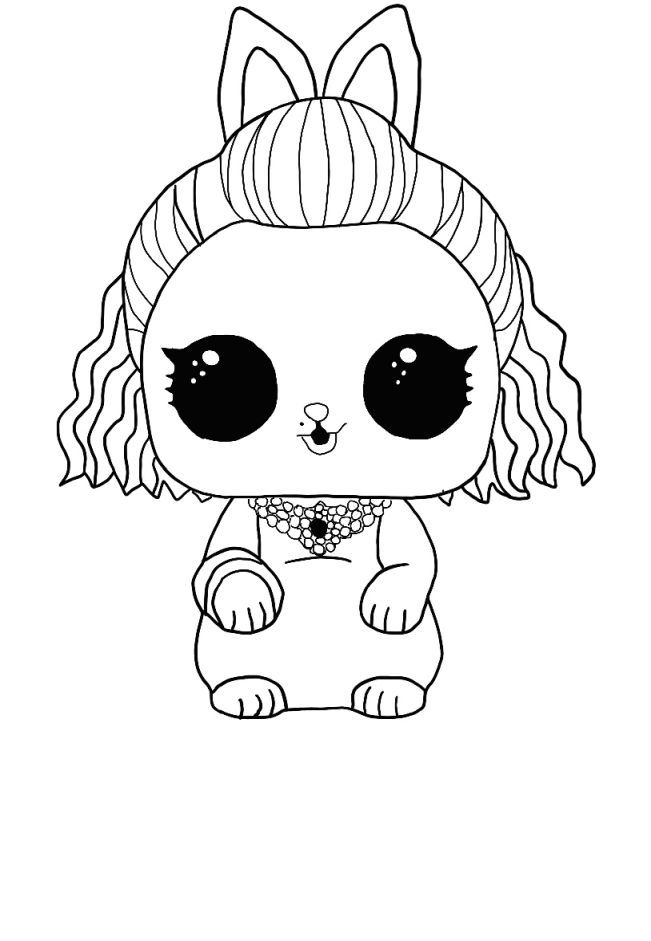LOL Surprise Winter disco coloring pages - Free coloring ...