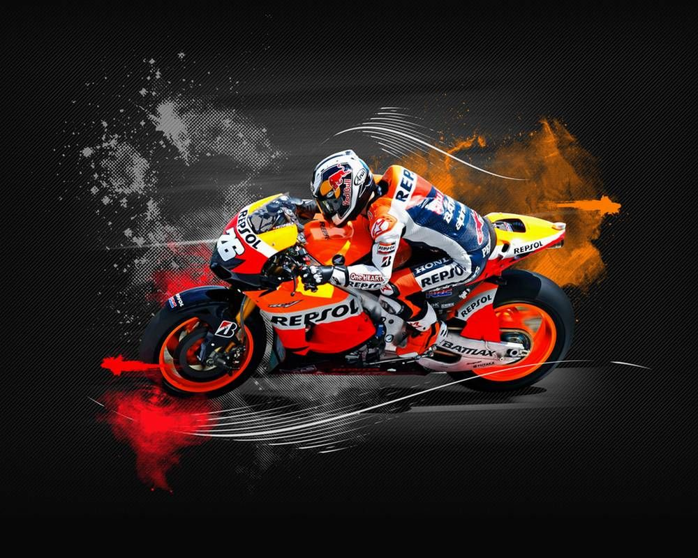 Wallpaper Moto Gp 3d