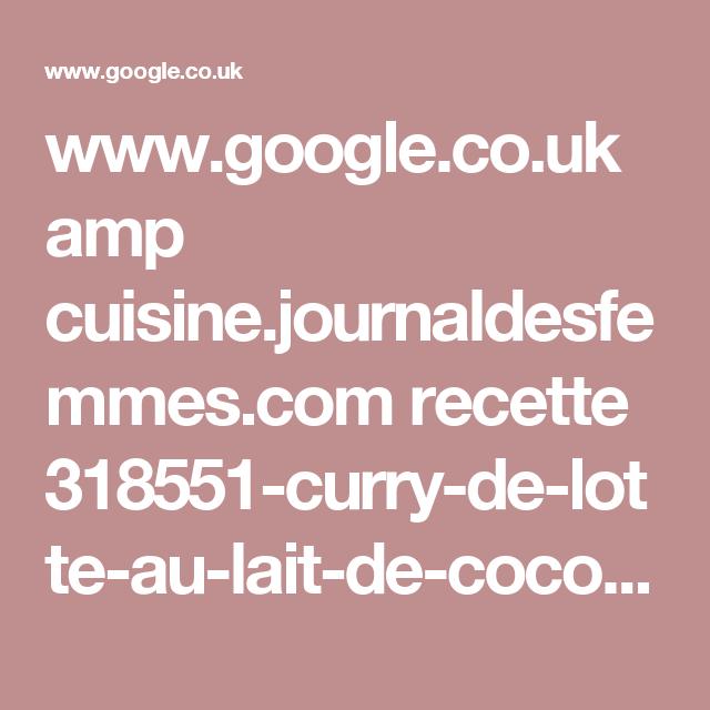 Wwwgooglecouk Amp Cuisinejournaldesfemmescom Recette - Cuisine journaldesfemmes