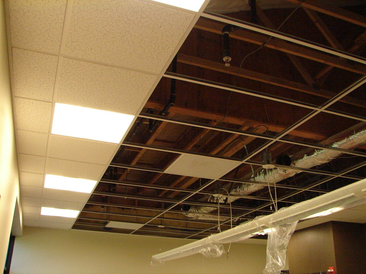 how to finish a basement ceiling