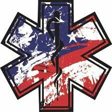 Star Of Life Ems Tattoos Anerican Flag Firefighter Paramedic