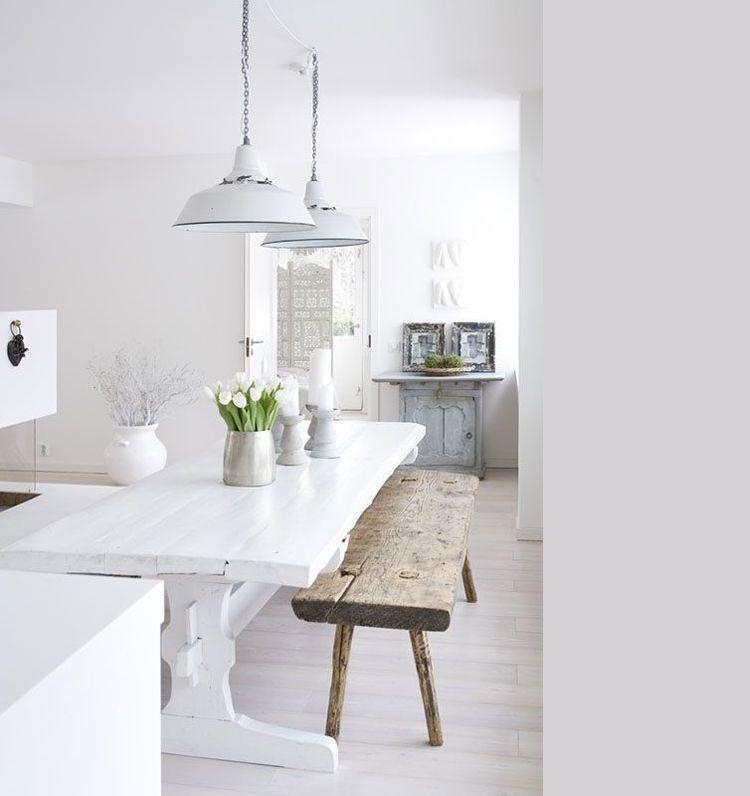 Fris en stijlvol: de 15 mooiste scandinavische eetkamers - Eetkamer ...
