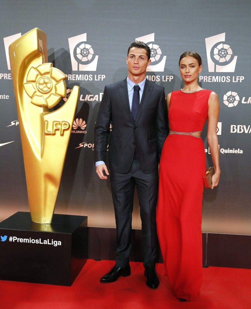 Cristiano Ronaldo & Irina Shayk at the gala