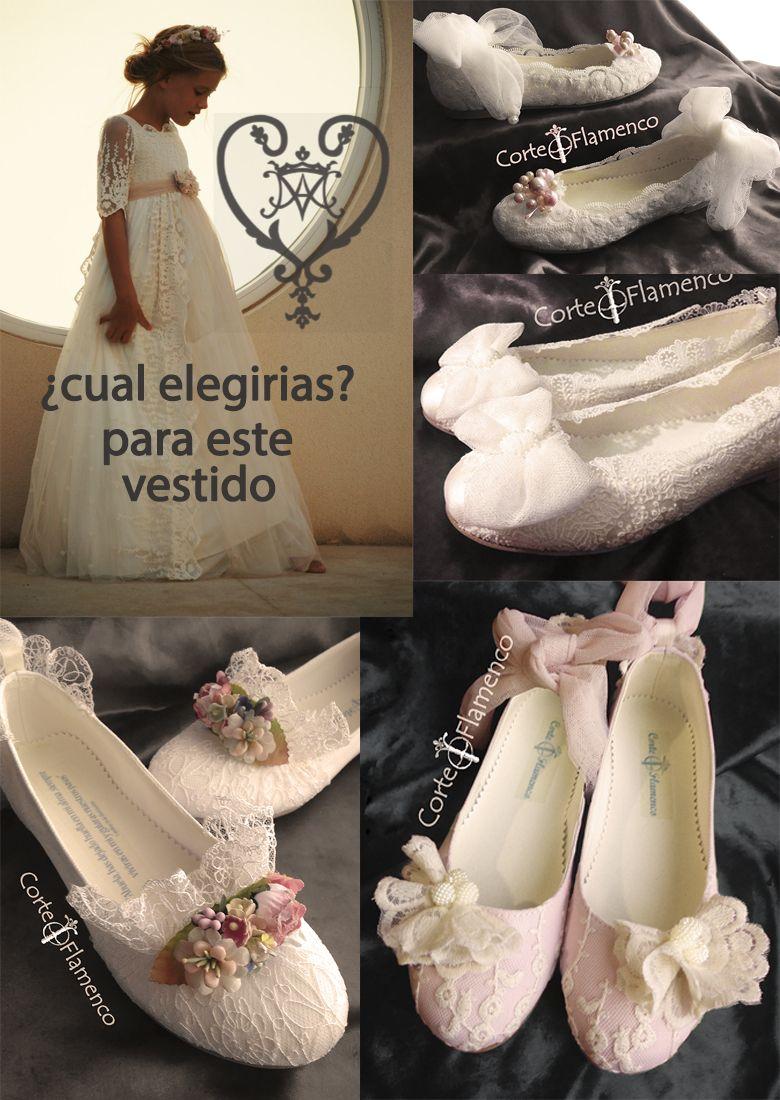 ce021184cb0 Tipos de banquetes de comunión y Mon air zapatos - Corte Flamenco ...