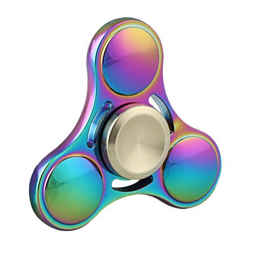 STYLE*2 Fidget Metal Hand Spinner High Speed Stress Anxiety Relief Toys Spins 2