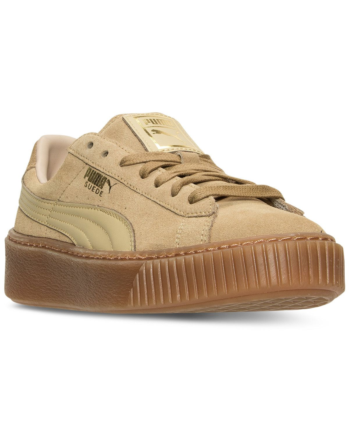 aa97677d27d78 Puma Women s Suede Platform Casual Sneakers from Finish Line - Puma - Shoes  - Macy s