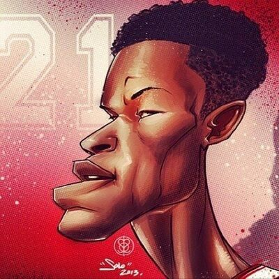 Jimmy Butler Cartoon Basketball Art Da Bulls Portrait Tattoo