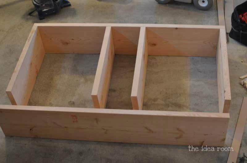 Image Result For Plans To Build A Pedistal Bed With Drawers