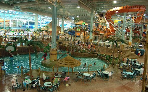 Kalahari Resort Biggest Indoor Waterpark With The Fasts Slide