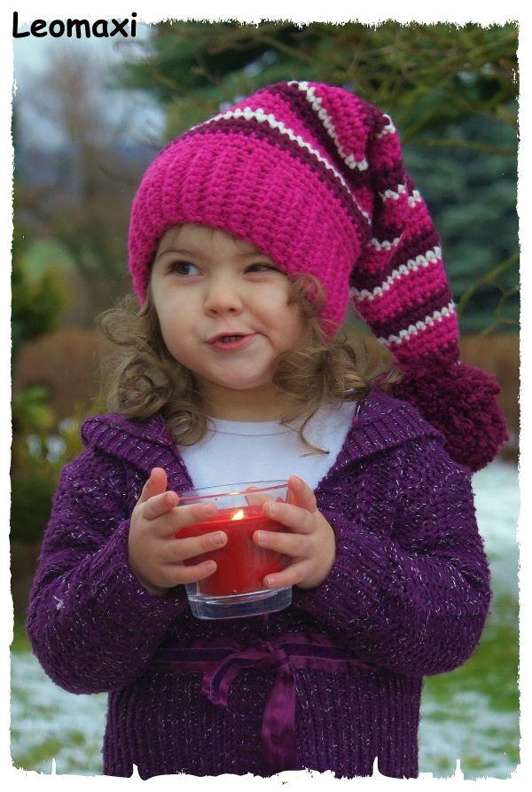 Schau Dir Diese Wunderschöne Gehäkelte Zipfelmütze An Gefällt Sie