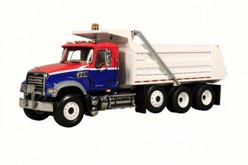 Mack Granite Dump Truck First Gear 10 3994 1 34 Scale Diecast Model Toy Car Dump Trucks Trucks Diecast
