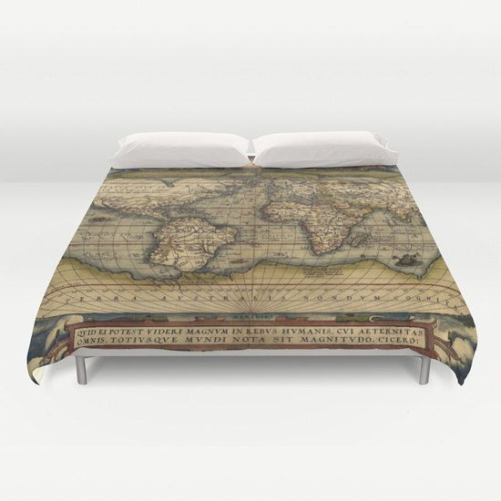 Hey i found this really awesome etsy listing at httpsetsy hey i found this really awesome etsy listing at https world map decorcomforter gumiabroncs Gallery