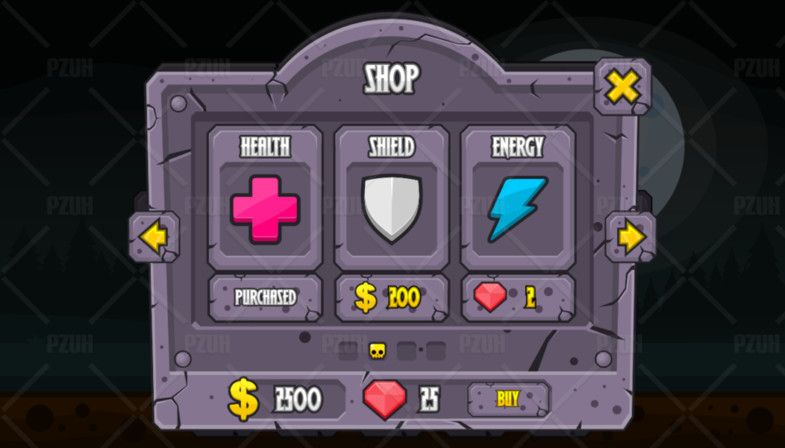Zombie Graveyard Game Gui Sponsored Ad Graveyard Zombie Game Icons In 2020 Game Gui Cartoon Games Games
