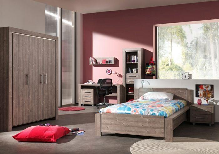 La chambre ado fille - 75 idées de décoration - Archzinefr Bedrooms