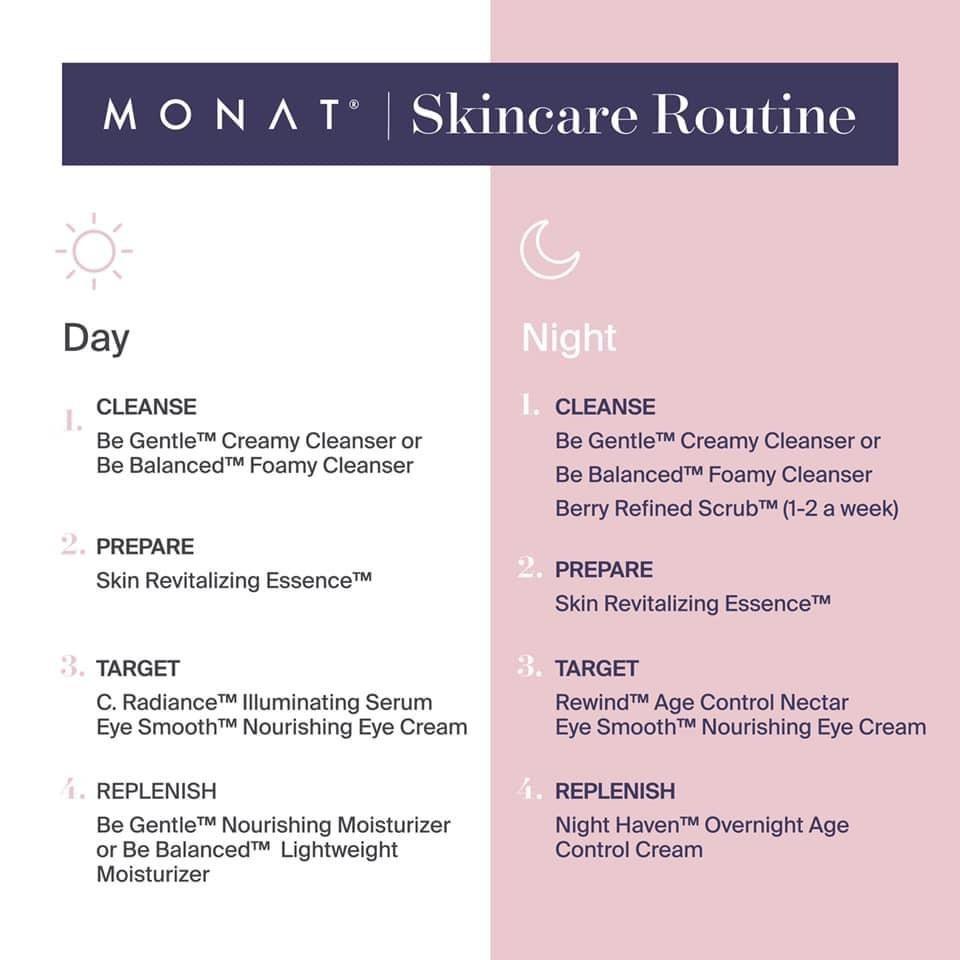 Monat Skincare Routine Skin Care Routine Night Skin Care Routine Morning Skin Care Routine